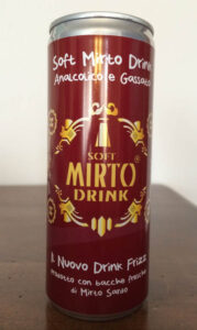 Soft Mirto Drink - Lattina 0.33 L